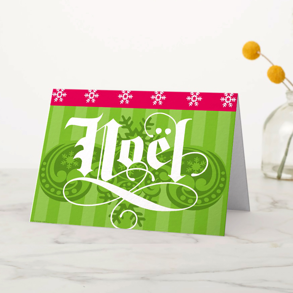 TYPE DESIGN/PRINT DESIGN - Noel / Christmas card - ©UnParalleled, LLC dba UP-Ideas / Roger Sawhill / Mark Braught - Atlanta, Georgia | Lawrenceville, Georgia | Commerce, Georgia