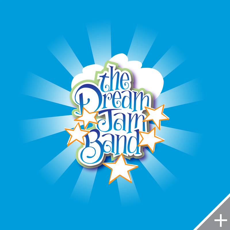 LOGO DESIGN/BRANDING - The Dream Jam Band - ©UnParalleled, LLC dba UP-Ideas / Roger Sawhill / Mark Braught - Atlanta, Georgia | Lawrenceville, Georgia | Commerce, Georgia