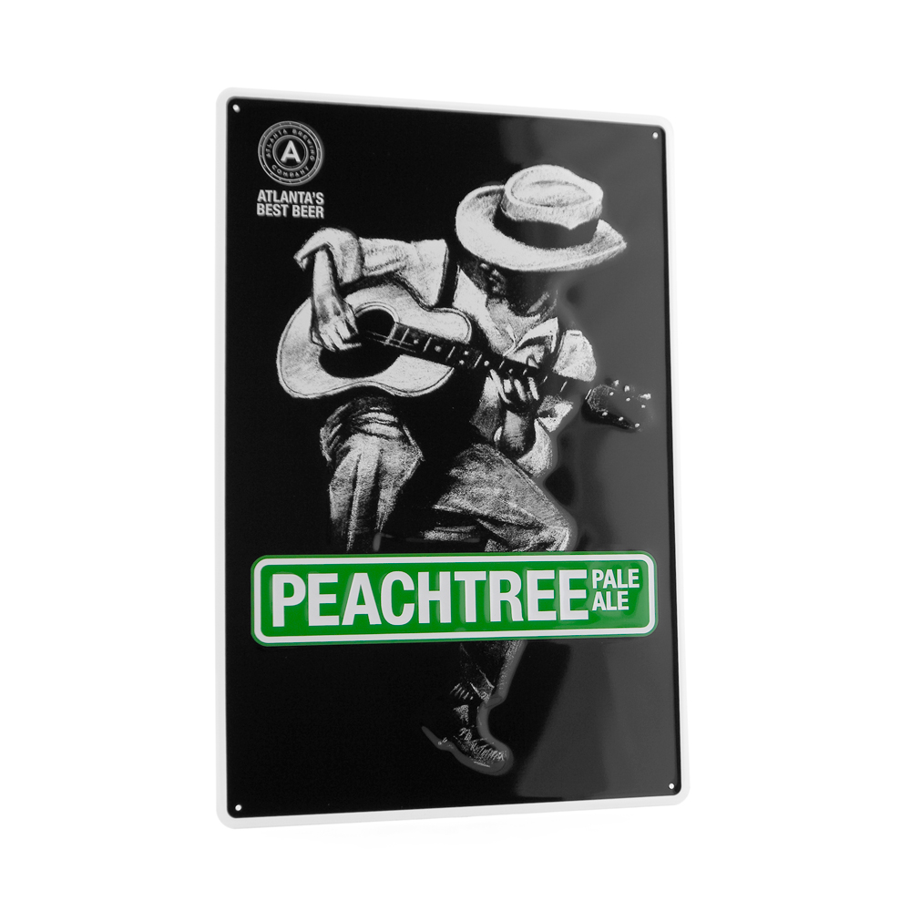 MERCHANDISING DESIGN - Peachtree Pale Ale - ©UnParalleled, LLC dba UP-Ideas / Roger Sawhill / Mark Braught - Atlanta, Georgia | Lawrenceville, Georgia | Commerce, Georgia