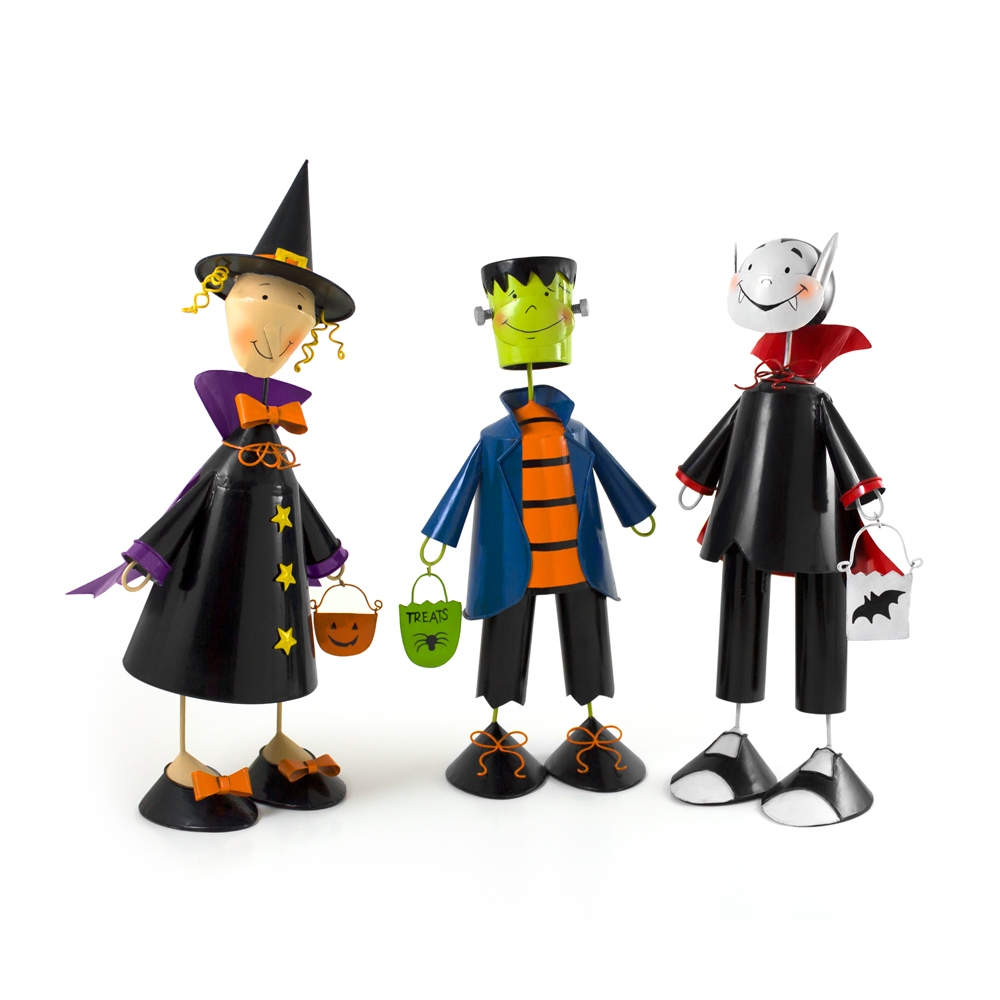 MERCHANDISING DESIGN - Halloween Tin Characters - ©UnParalleled, LLC dba UP-Ideas / Roger Sawhill / Mark Braught - Atlanta, Georgia | Lawrenceville, Georgia | Commerce, Georgia