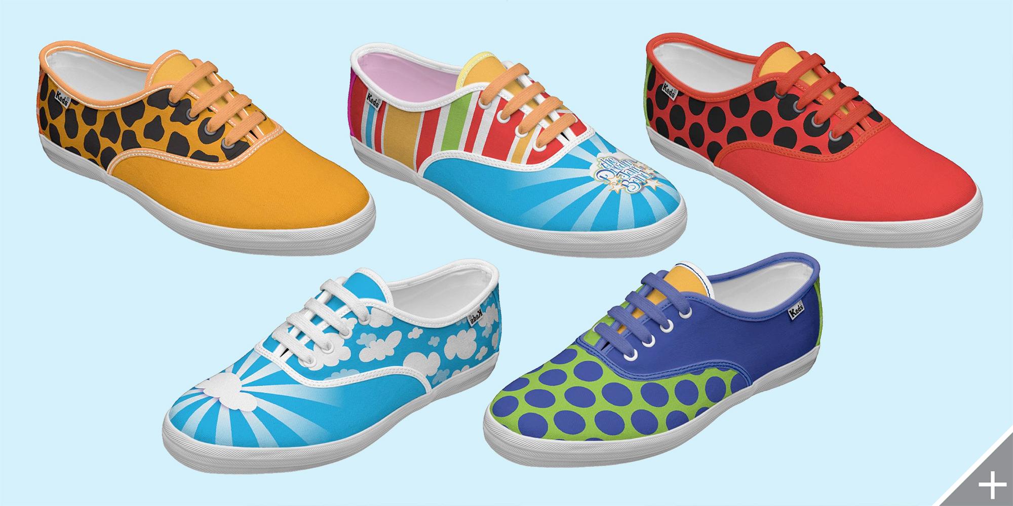MERCHANDISE DESIGN - The Dream Jam Band   shoes - ©UnParalleled, LLC dba UP-Ideas / Roger Sawhill / Mark Braught - Atlanta, Georgia   Lawrenceville, Georgia   Commerce, Georgia