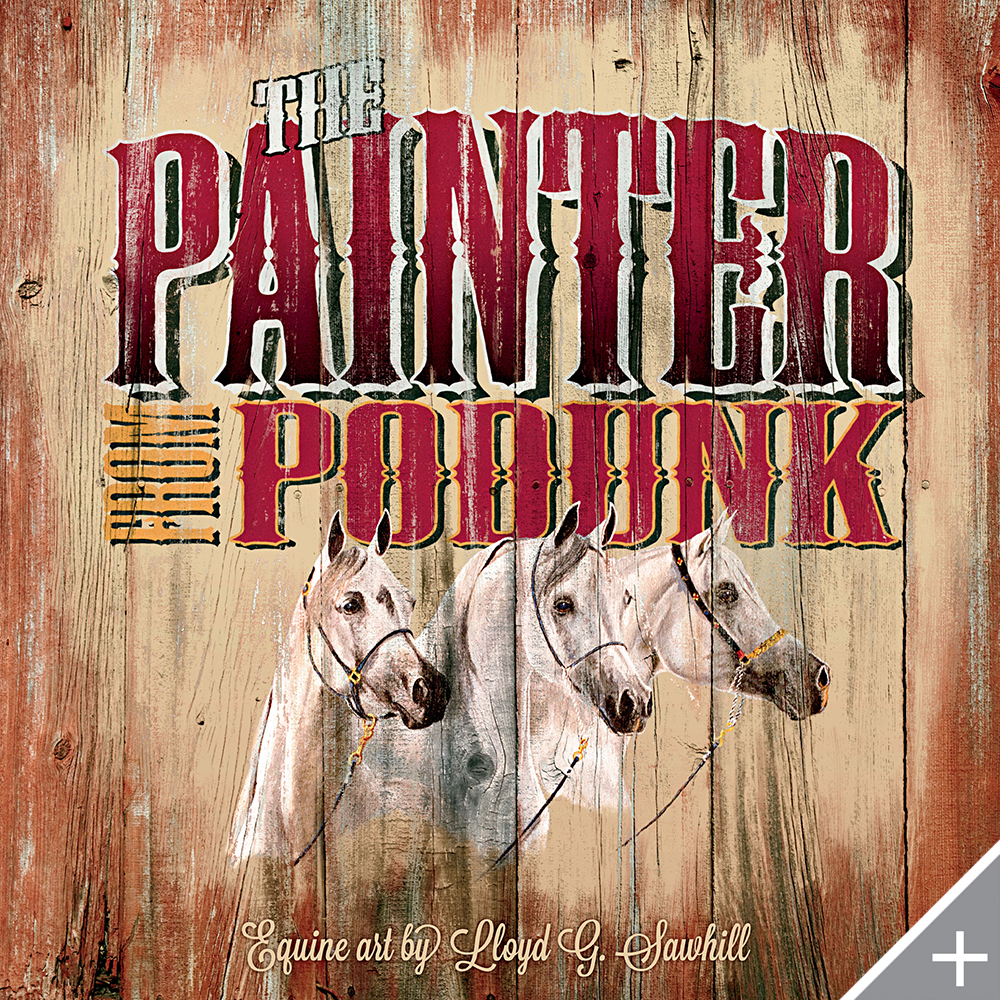 PRINT DESIGN/TYPE DESIGN/BOOK DESIGN - The Painter from Podunk - ©UnParalleled, LLC dba UP-Ideas / Roger Sawhill / Mark Braught - Atlanta, Georgia | Lawrenceville, Georgia | Commerce, Georgia