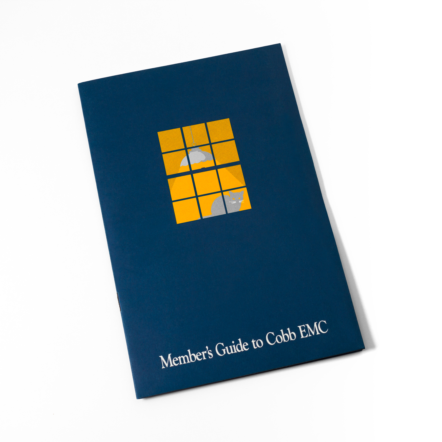 PRINT DESIGN - Cobb EMC | member guide - ©UnParalleled, LLC dba UP-Ideas / Roger Sawhill / Mark Braught - Atlanta, Georgia | Lawrenceville, Georgia | Commerce, Georgia