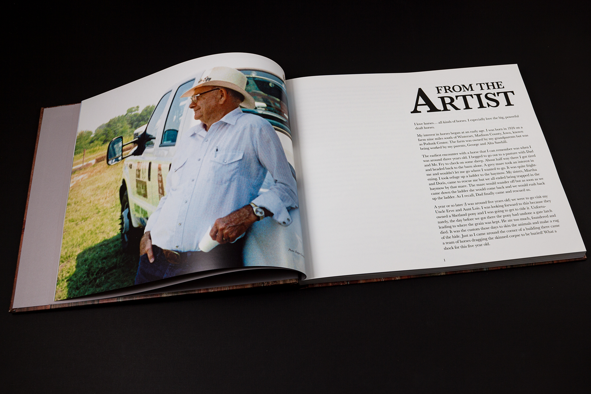 PRINT DESIGN/BOOK DESIGN - The Painter from Podunk - ©UnParalleled, LLC dba UP-Ideas / Roger Sawhill / Mark Braught - Atlanta, Georgia | Lawrenceville, Georgia | Commerce, Georgia